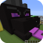 Black fire  Dragon Mod for MCPE 4.3 (MOD, Unlimited Money)