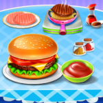 Burger Maker Fast Food Kitchen Game 0.6 (MOD, Unlimited Money)