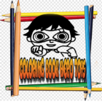 Coloring Book Ryan Hero Toys 3.0 (MOD, Unlimited Money)