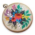 Cross Stitch Club — Color by Numbers with a Hoop 1.4.42 (MOD, Unlimited Money)