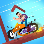 Dismounting Masters 1.07  (MOD, Unlimited Money)