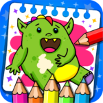 Fantasy – Coloring Book & Games for Kids 1.19  (MOD, Unlimited Money)