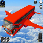 Flying Bus Driving simulator 2019: Free Bus Games 3.0 (MOD, Unlimited Money)