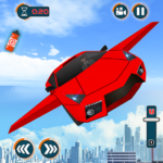 Flying Car Games 2020- Drive Robot Shooting Cars 1.7  (MOD, Unlimited Money)