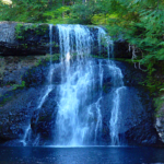 Forest Blue Waterfall LWP 3 APK (Premium Cracked)
