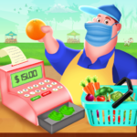 Grocery Supermarket Shopping- Cash Register Games  (MOD, Unlimited Money)3.0