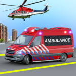 Heli Ambulance Simulator 2020: 3D Flying car games 1.12 (MOD, Unlimited Money)