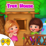 Kids Tree House Games 1.0.3  (MOD, Unlimited Money)