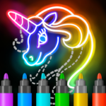 Learn to Draw Glow Cartoon 1.0.19 (MOD, Unlimited Money)