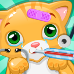 Little Cat Doctor Pet Vet Game 14.0 (MOD, Unlimited Money)