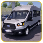 Minibus Sprinter Passenger Game 2019 2.14 (MOD, Unlimited Money)