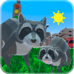Raccoon Adventure: City Simulator 3D 1.02 (MOD, Unlimited Money)