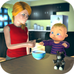 Real Mother Baby Games 3D: Virtual Family Sim 2019 1.0.5 (MOD, Unlimited Money)