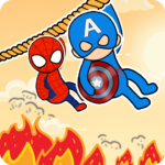 Rescue Hero – Rope Puzzle 1.3 (MOD, Unlimited Money)