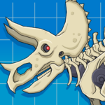 Triceratops Dinosaur Fossil Robot Age 2.5 (MOD, Unlimited Money)