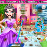 Winter Princess Big House Cleaning- Home Cleaning 1.1 (MOD, Unlimited Money)