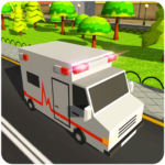 Blocky US Fire Truck & Army Ambulance Rescue Game 1.0.6 APK (MOD, Unlimited Money)