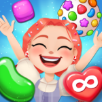 Candy Go Round – #1 Free Candy Puzzle Match 3 Game 1.6.0  APK (MOD, Unlimited Money)