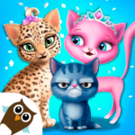 Cat Hair Salon Birthday Party – Virtual Kitty Care 8.0.80006 APK (MOD, Unlimited Money)