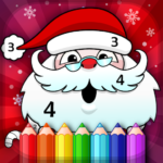 Christmas Coloring Book By Numbers 2.3 APK (MOD, Unlimited Money)