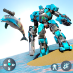 Dolphin Robot Transform: Robot War 1.4 APK (MOD, Unlimited Money)