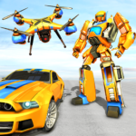 Drone Robot Car Game – Robot Transforming Games 1.1.3 APK (MOD, Unlimited Money)