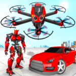 Drone Robot Car Transforming Game– Car Robot Games 1.1 APK (MOD, Unlimited Money)