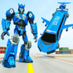 Flying Limo Robot Car Transform: Police Robot Game 1.0.10 APK (MOD, Unlimited Money)