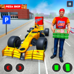 Formula Car Pizza Delivery New Car Driving Game 1.0.8 APK (MOD, Unlimited Money)