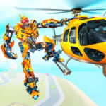Helicopter Robot Transform War – Air robot games 1.0.18 APK (MOD, Unlimited Money)