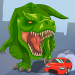 Jurassic Dinosaur: City rampage 2.6 APK (MOD, Unlimited Money)