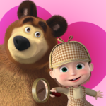 Masha and the Bear – Spot the differences 3.9 APK (MOD, Unlimited Money)