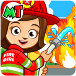 My Town : Fireman & Fire Station Story Game 1.30 APK (MOD, Unlimited Money)