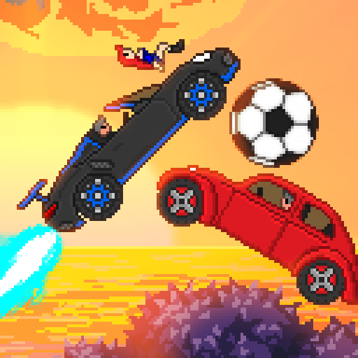 Pixel Boost League – 2D Rocket Powered Car Soccer 1.7.3 APK (MOD, Unlimited Money)