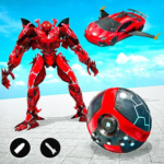 Red Ball Robot Car Transform: Flying Car Games 1.4.1 APK (MOD, Unlimited Money)