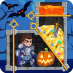 Rescue Hero: Pull the Pin – Halloween 1.43 APK (MOD, Unlimited Money)