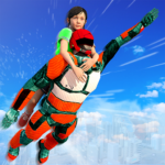 US Light Robot  Speed Hero :City Rescue Mission 1.0.21 APK (MOD, Unlimited Money)