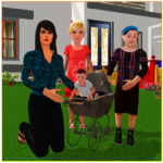 Virtual Single Mom Simulator: Family Mother Life 1.15 APK (MOD, Unlimited Money)