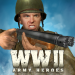 World War 2 Frontline Heroes: WW2 Commando Shooter 1.2.3 APK (MOD, Unlimited Money)
