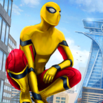 Amazing Spider Hero: Ninja Stickman Rope Hero 3D 1.0 APK (MOD, Unlimited Money)