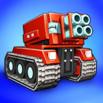 Blocky Cars – online games, tank wars 7.6.8 APK (MOD, Unlimited Money)