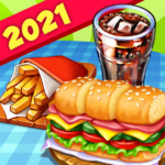 Hell's Cooking: crazy burger, kitchen fever tycoon 1.43 APK (MOD, Unlimited Money)