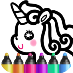 Kids Drawing Games for Girls 🎀 Apps for Toddlers!  APK (MOD, Unlimited Money) 1.4.3.4