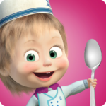 Masha and Bear: Cooking Dash 1.3.9 APK (MOD, Unlimited Money)
