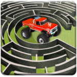 Monster Truck Maze Driving 2020: 3D RC Truck Games 2.2  APK (MOD, Unlimited Money)