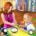 New Baby Single Mom Family Adventure 1.1.1 APK (MOD, Unlimited Money)