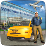 Real Taxi Airport City Driving-New car games 2020 1.8 APK (MOD, Unlimited Money)