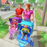 Virtual Mother New Baby Twins Family Simulator 2.1.8 APK (MOD, Unlimited Money)