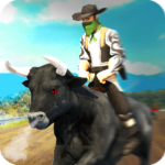 Angry Bull Attack – Cowboy Racing 1.3 APK (MOD, Unlimited Money)