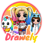 Drawely – How To Draw Cute Girls and Coloring Book 100.7.6 APK (MOD, Unlimited Money)